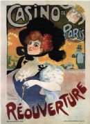 Vintage French poster - Casino de Paris, Reouverture